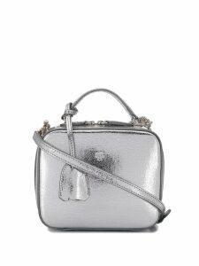 Mark Cross Baby Laura crossbody bag - Silver
