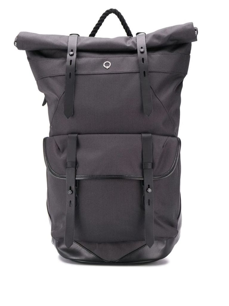 Stighlorgan large buckle backpack - Blue