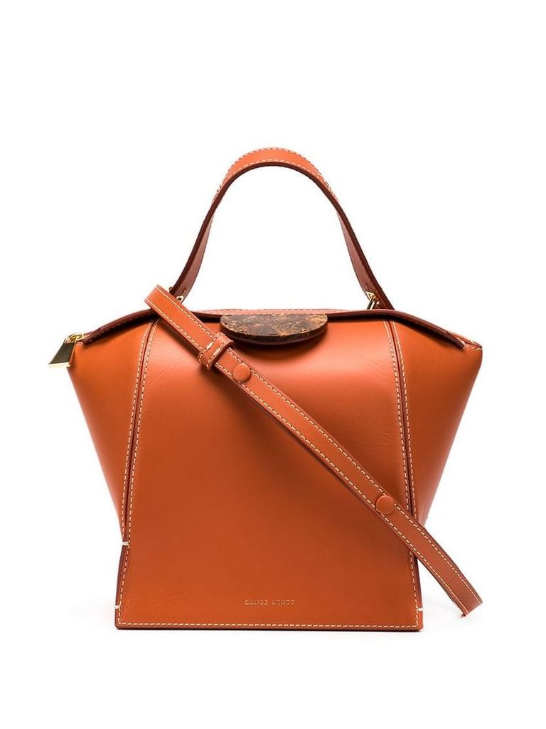 Danse Lente box tote bag - Orange