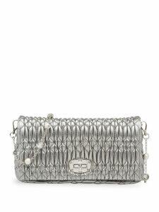 Miu Miu Miu cloque bag - Silver