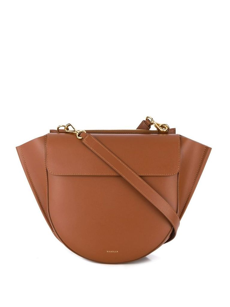 Wandler Hortensia medium shoulder bag - Brown