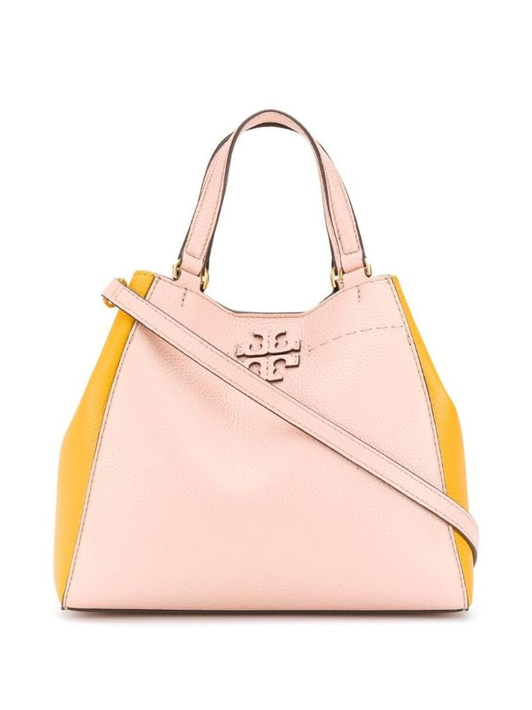 Tory Burch Mcgraw tote bag - Pink