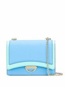 Emilio Pucci Colour-block shoulder Olivia bag - Blue