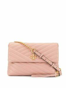 Tory Burch Kira chevron flap shoulder bag - Pink