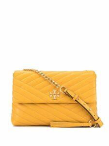 Tory Burch Kira chevron flap shoulder bag - Yellow