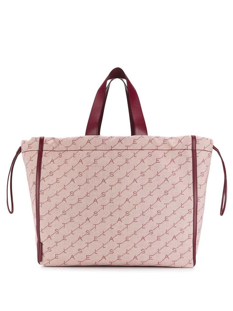 Stella McCartney Monogram large tote bag - Red