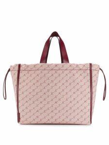 Stella McCartney Monogram large tote bag - Red