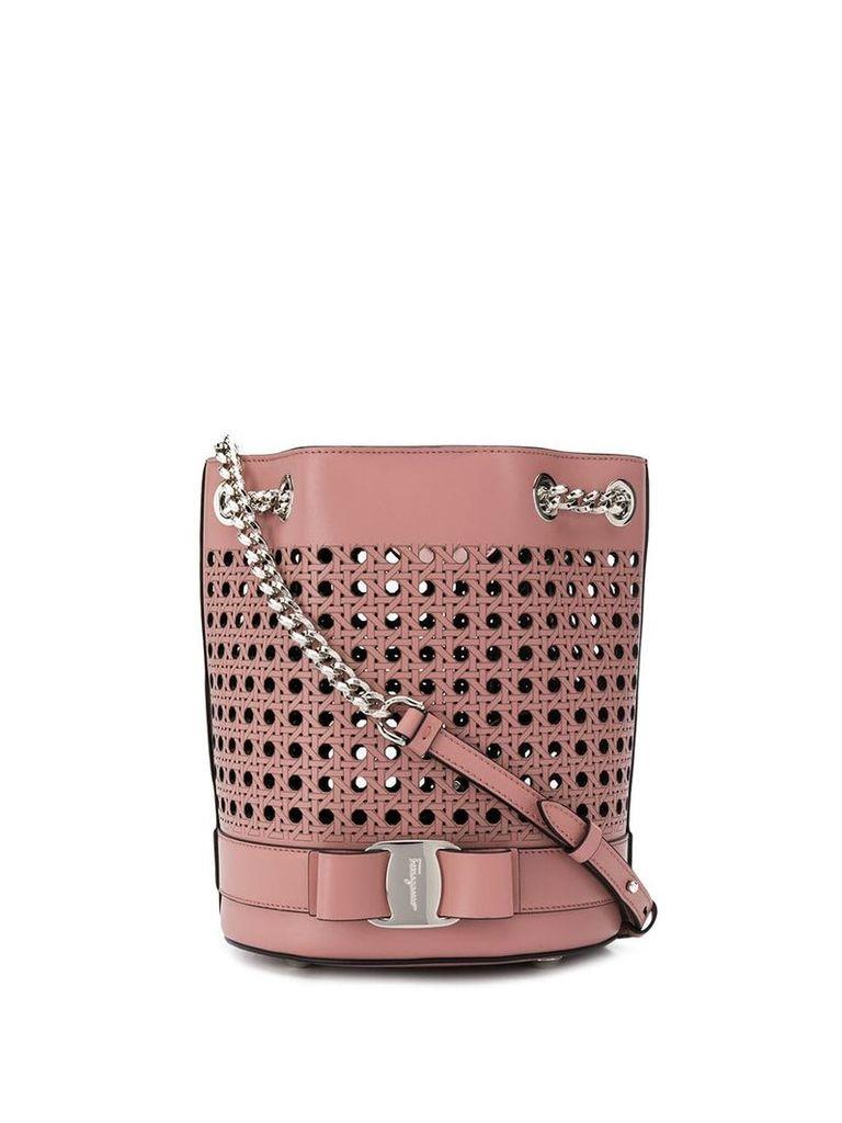 Salvatore Ferragamo bucket bag - Pink