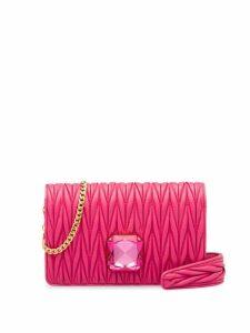 Miu Miu Miu Délice matelassé bag - Pink