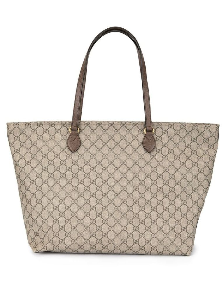 Gucci Ophidia GG large tote - Brown