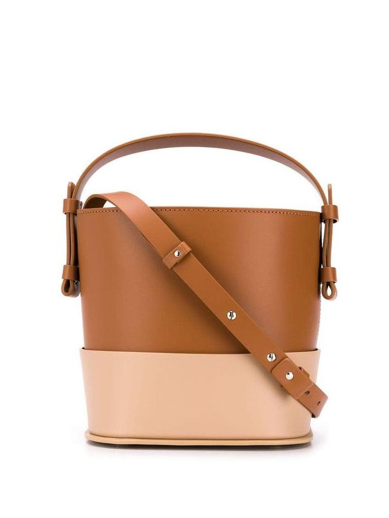 Nico Giani Adenia bucket bag - Brown