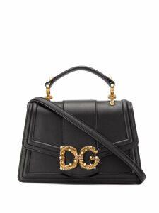 Dolce & Gabbana logo embellished tote bag - Black