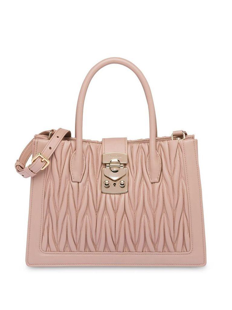 Miu Miu Miu Confidential handbag - Neutrals