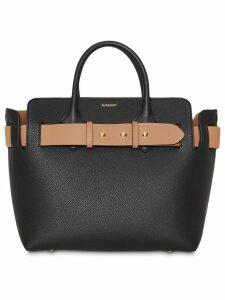 Burberry The Small Leather Triple Stud Belt Bag - Black