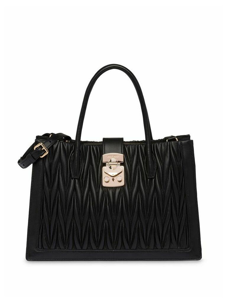 Miu Miu Confidential tote bag - Black