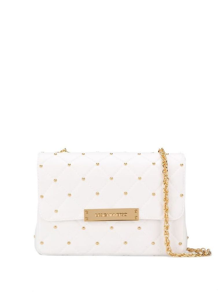 Designinverso quilted shoulder bag - White