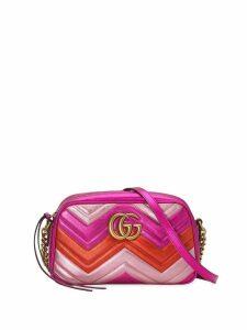 Gucci GG Marmont small matelassé shoulder bag - Pink
