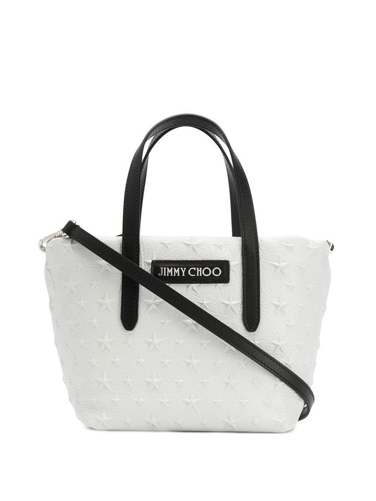 Jimmy Choo Sara mini tote - Neutrals