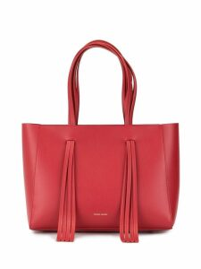 Mansur Gavriel adjustable handle tote bag - Red