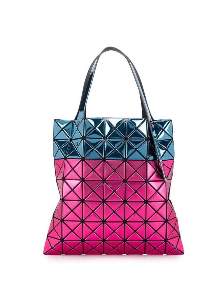 Bao Bao Issey Miyake two-tone tote bag - Pink