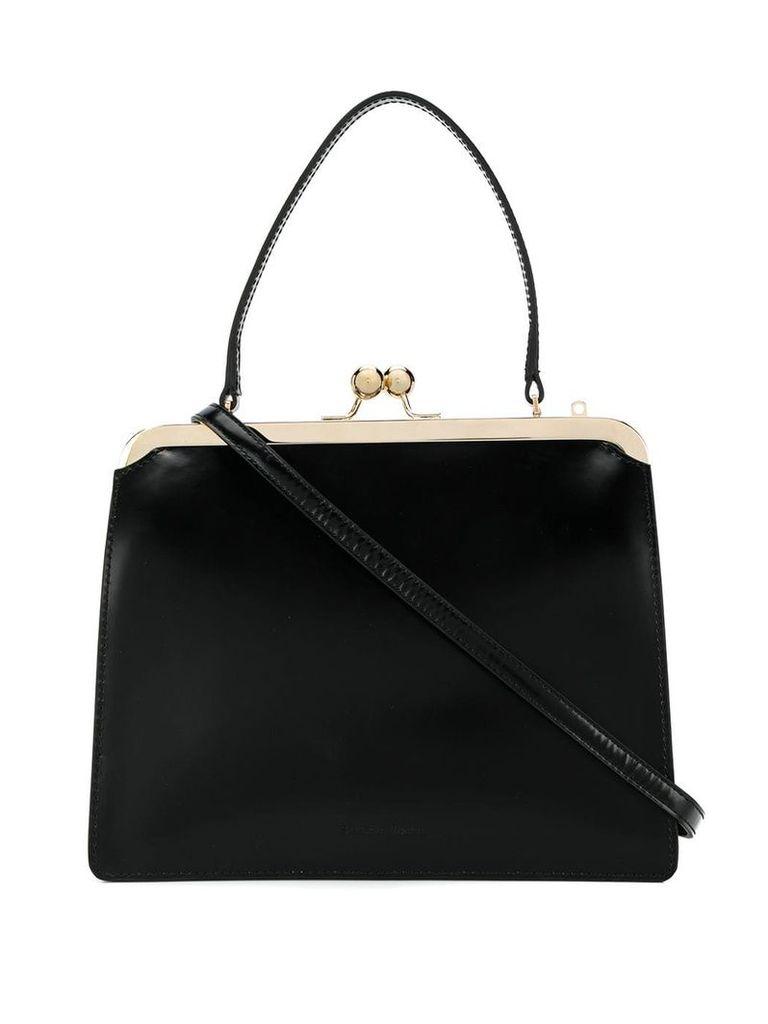 Simone Rocha squared tote bag - Black