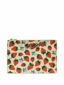 Gucci Strawberry print clutch bag - 9036 Multi