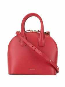 Mansur Gavriel Tiny tote and crossbody bag hybrid - Red