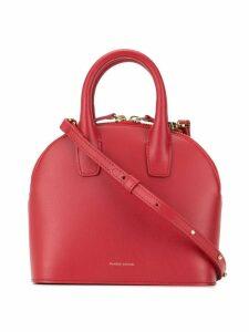 Mansur Gavriel Tiny tote and crossbody bag hybrid - Red