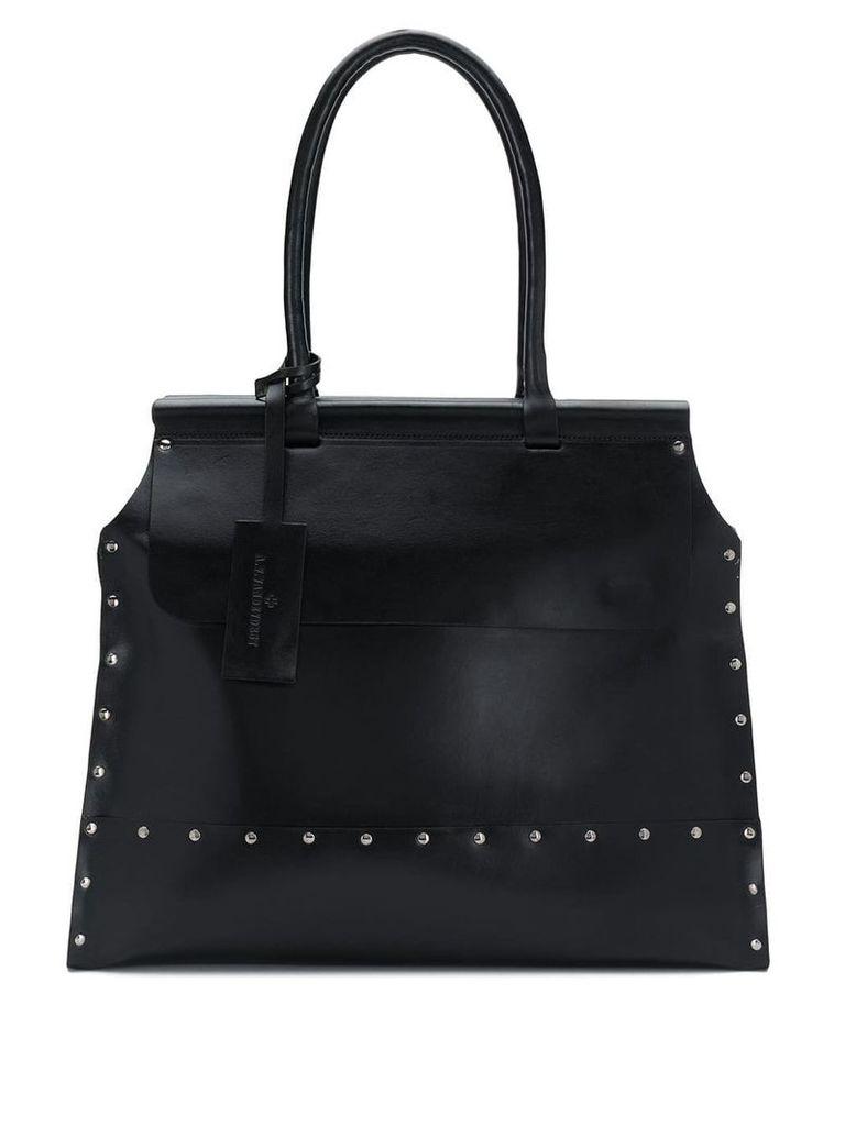 A.F.Vandevorst large studded tote bag - Black