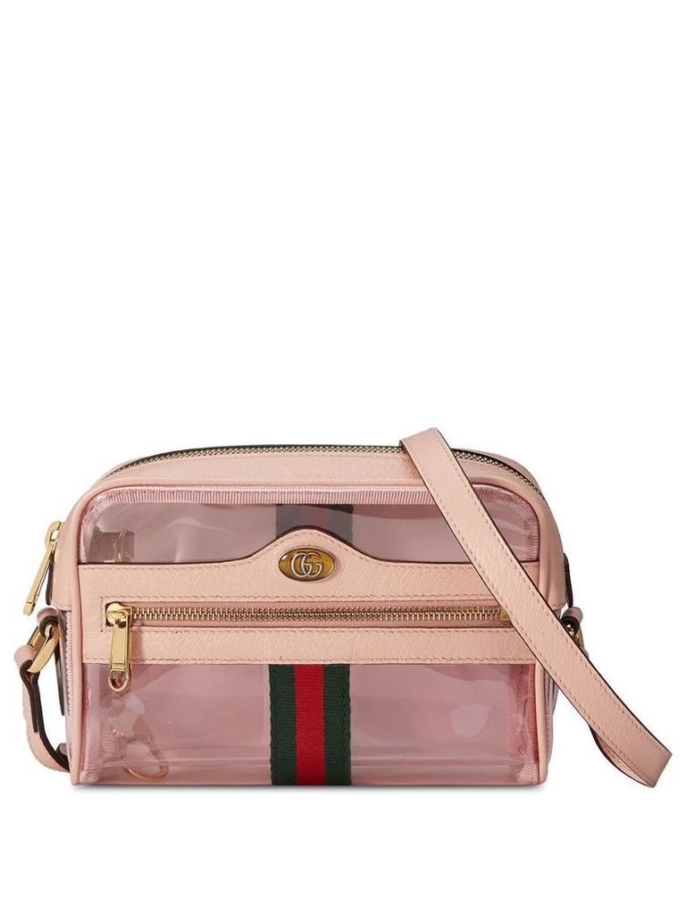 Gucci Ophidia mini transparent bag - Pink
