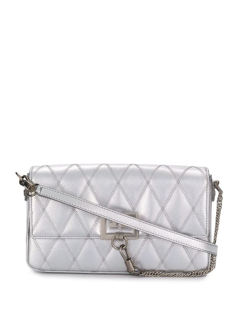 Givenchy quilted Charm shoulder bag - Silver