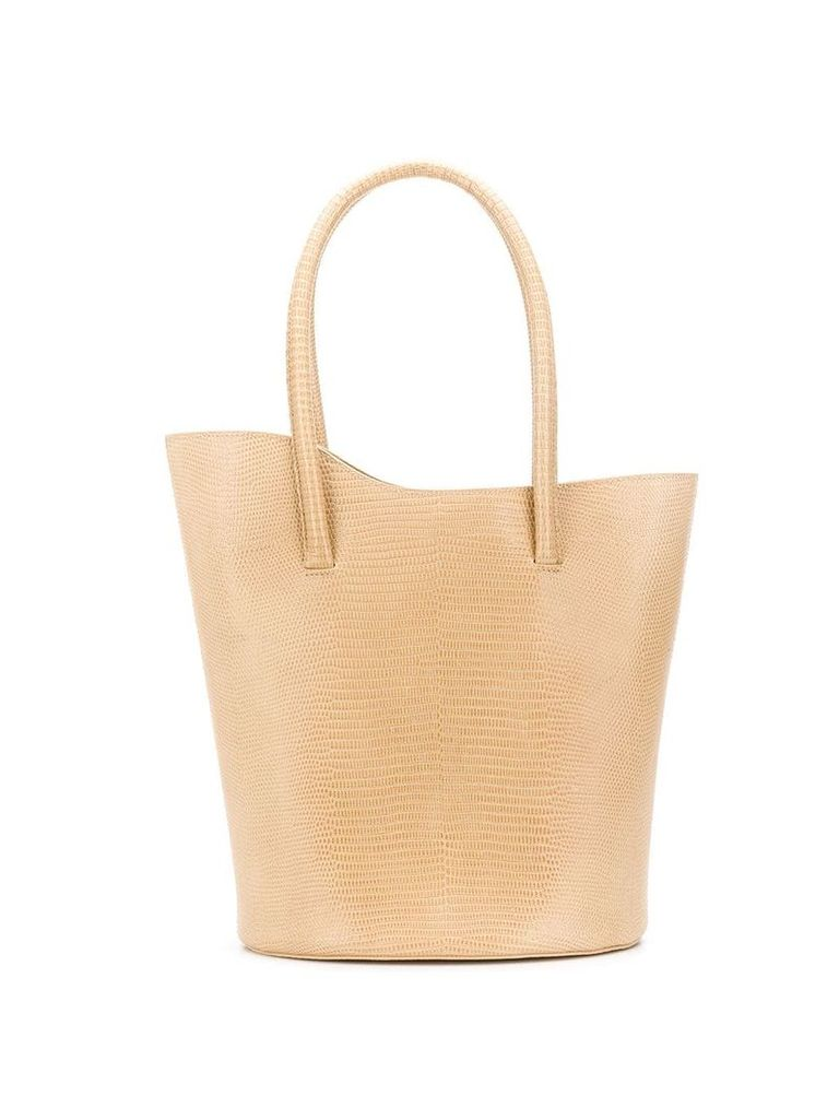 Little Liffner asymmetric top tote - Neutrals