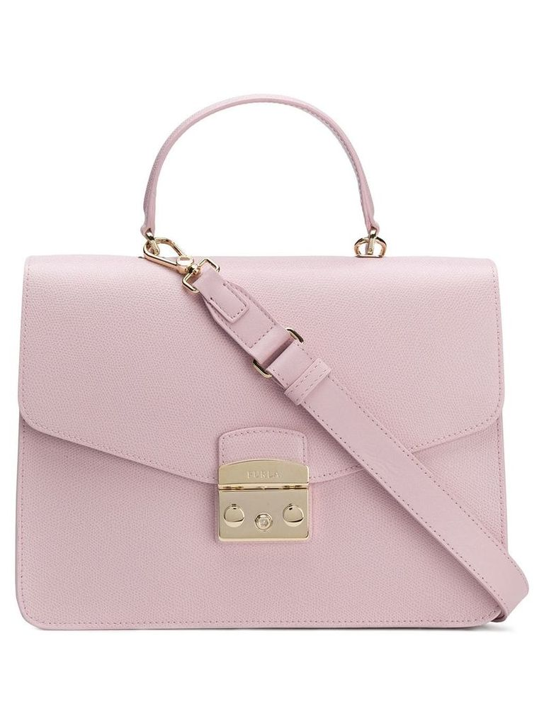 Furla square shaped shoulder bag - Pink