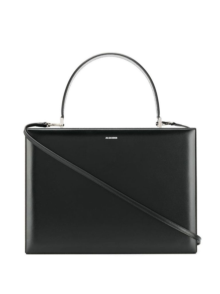 Jil Sander briefcase tote bag - Black