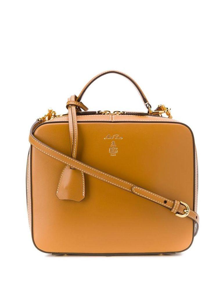 Mark Cross Laura top handle bag - Brown