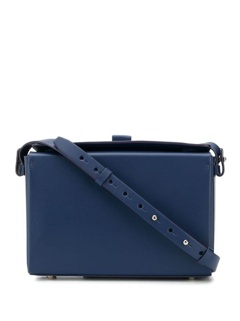 Nico Giani box cross body bag - Blue