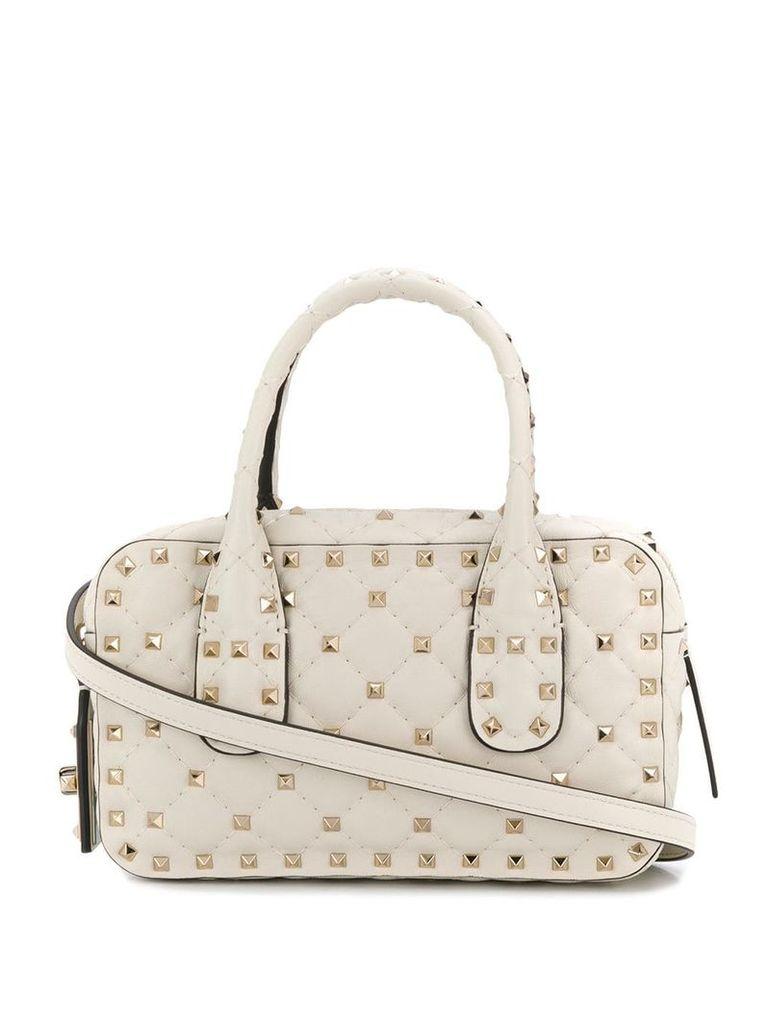 Valentino rockstud crossbody bag - White