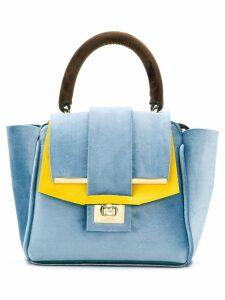 Alila mini tote bag - Blue