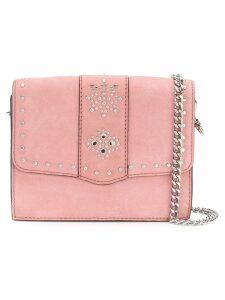 Rebecca Minkoff studded shoulder bag - Pink