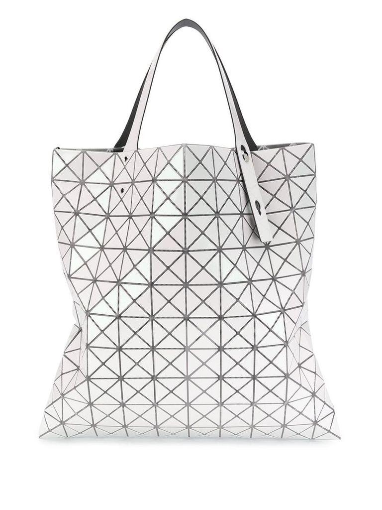 Bao Bao Issey Miyake geometric shopper bag - White