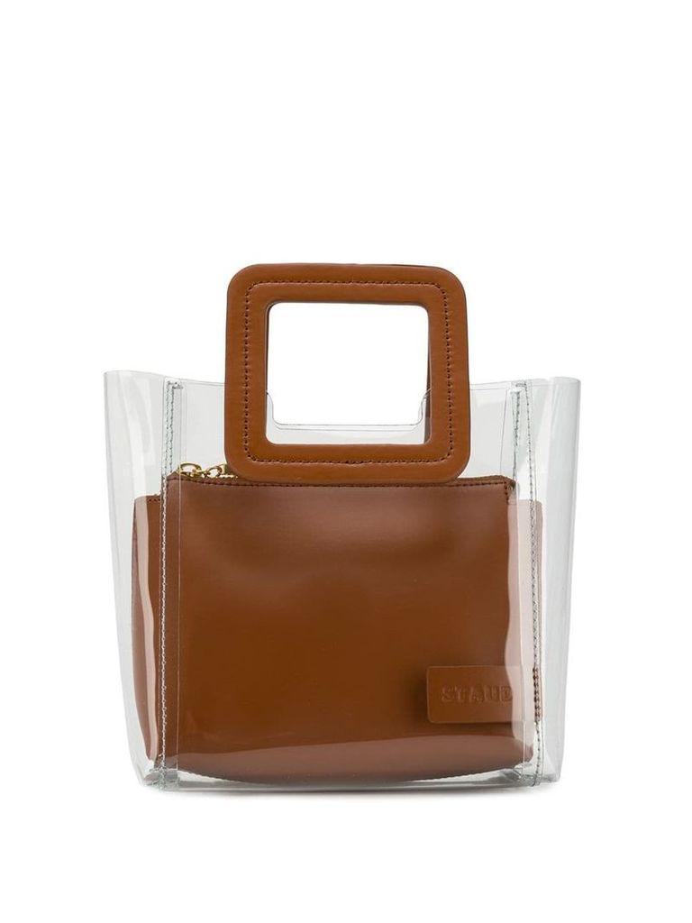 Staud mini Shirley bag - Brown