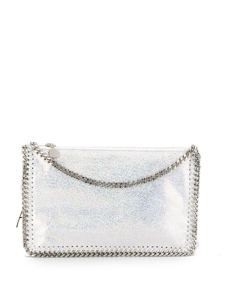Stella McCartney Falabella clutch bag - Silver