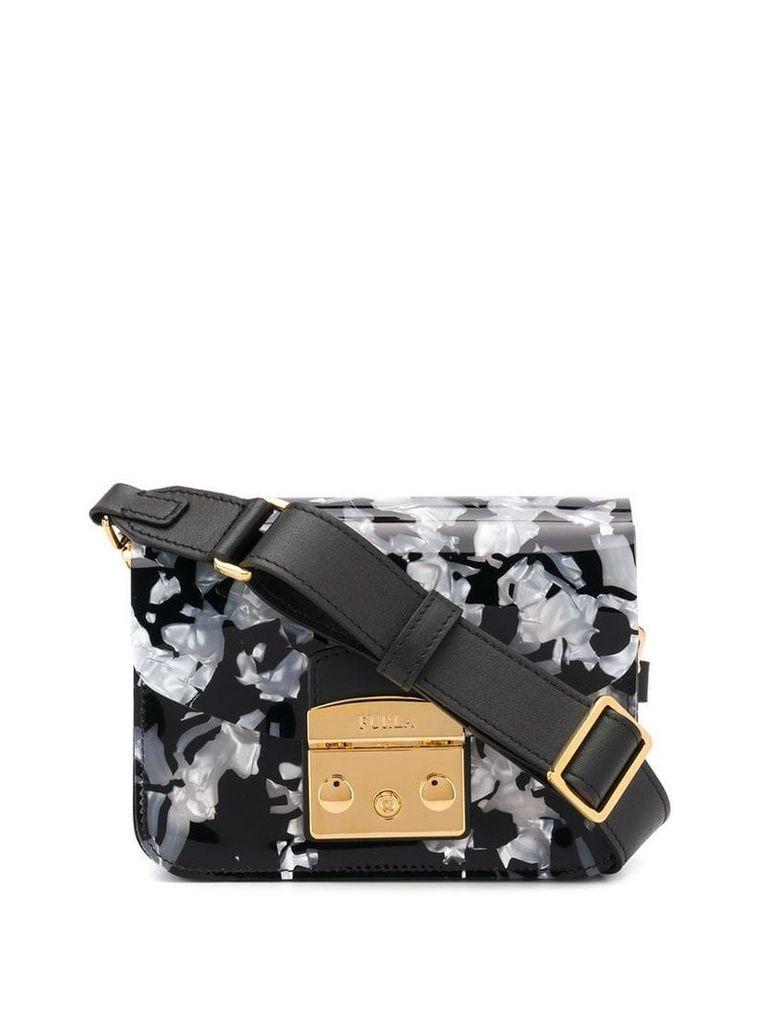 Furla Petalo shoulder bag - Black