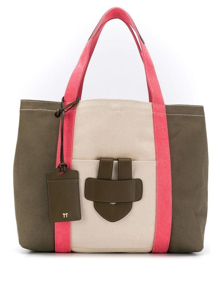 Tila March Simple Bag L tote - Neutrals