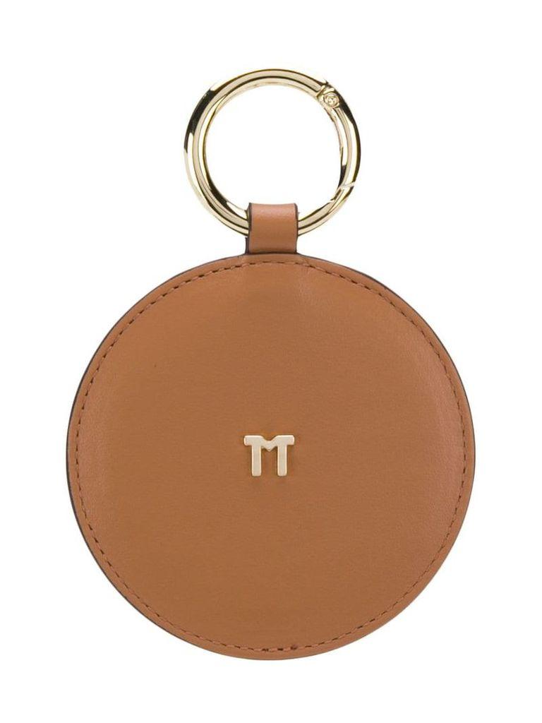 Tila March round handbag mirror - Brown