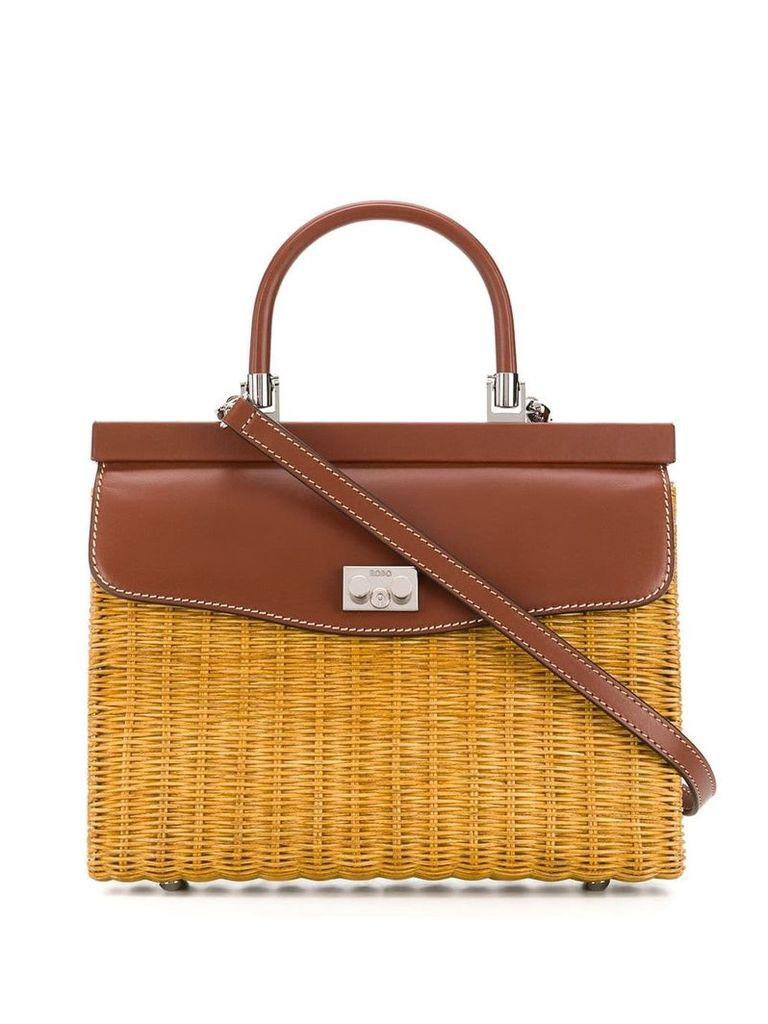 Rodo medium tote bag - Brown