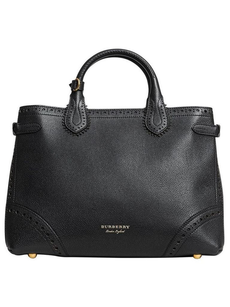 Burberry Medium Banner tote bag - Black