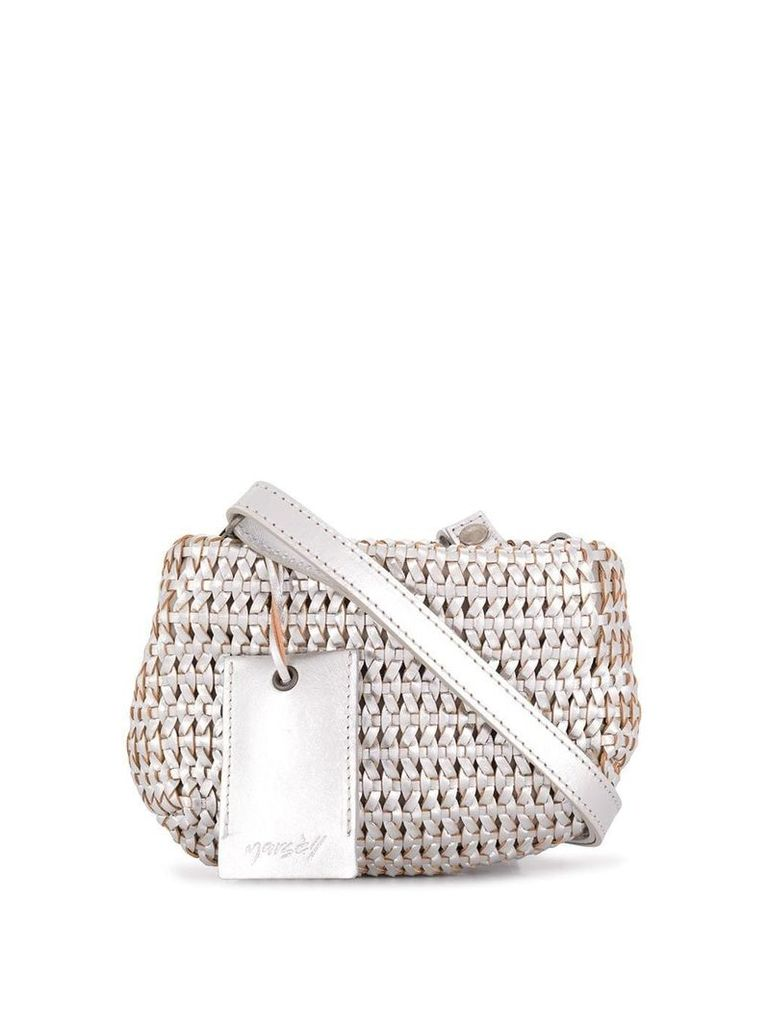 Marsèll woven shoulder bag - Metallic