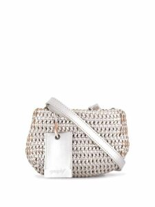 Marsèll woven shoulder bag - Metallic