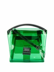 Zucca transparent tote bag - Green